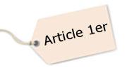 article 1 sur les détecteurs de fumée