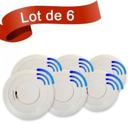 Lot de 6 détecteurs de fumée EI Electronics EI605TYCRF