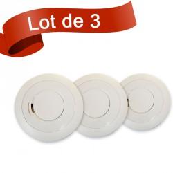 Lot de 3 détecteurs de fumée EI Electronics EI605TYC