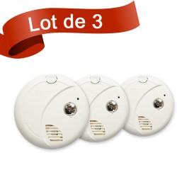 Lot de 3 détecteurs de fumée First Alert SA720CE